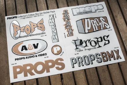 Props Collector's Edition Box Set Sticker Sheet